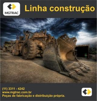 Linha de máquinas para construção da CATERPILLAR