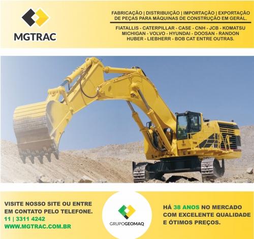 Produção, distribuição, importação e exportação de peças para máquinas de construção.