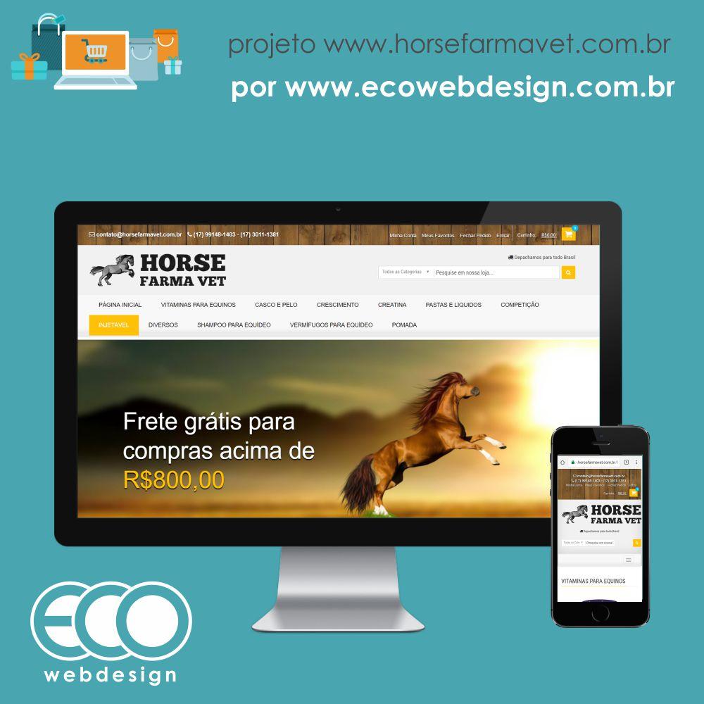 Imagem de Acesse <a href='http://www.horsefarmavet.com.br' target='_blank'>horsefarmavet.com.br </a>• Loja Virtual de Produtos Veterinários • Horse Farma Vet