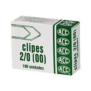CLIPES 2/0 GALVANIZADO ACC CX C/100 UN FQ