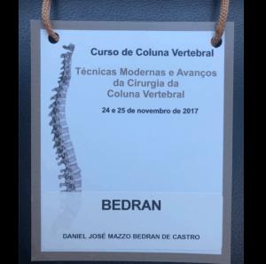 Curso Técnicas Modernas em Cirurgia da Coluna Vertebral