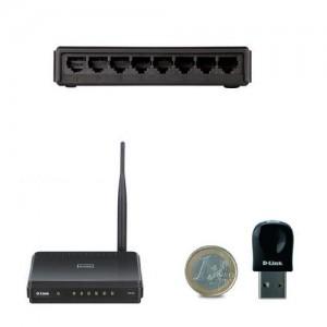 Imagem do menu para Switchs e Roteadores
