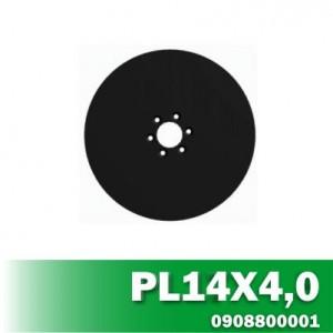 Disco de Linha de Plantio PL14X4,0