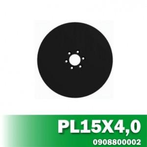 Disco de Linha de Plantio PL15X4,0 Furo R68