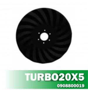 Disco de Corte TURBO20X5 Furo R80 6 FF11