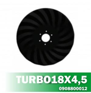 Disco de Corte TURBO18X4,5 Furo R80 6mm Furo 11 AF12