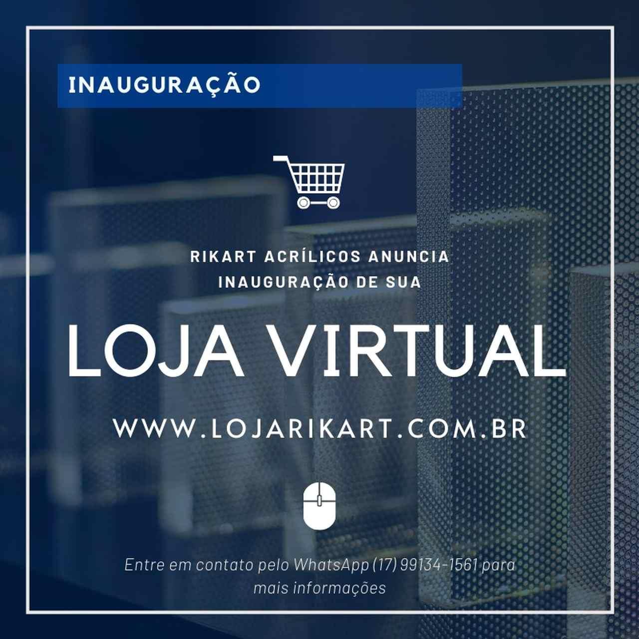 Loja Virtual RikArt Acrílicos!