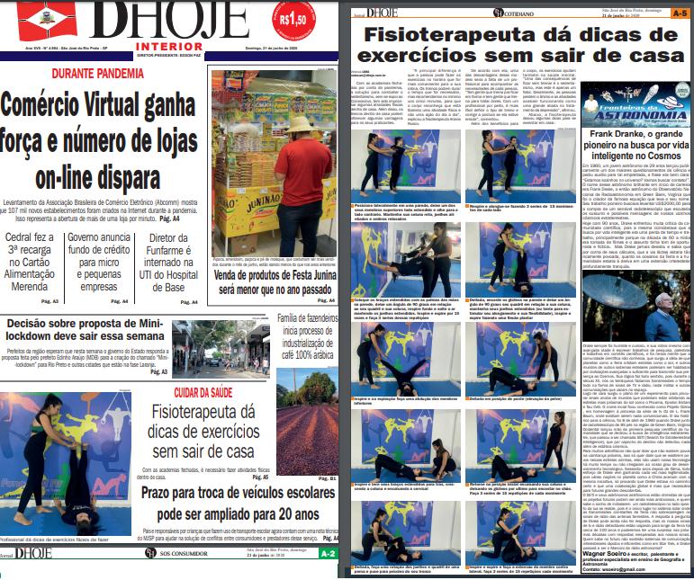 Capa Jornal D Hoje