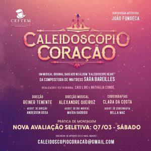 Imagem para curso de Caleidoscópio Coração - O Musical