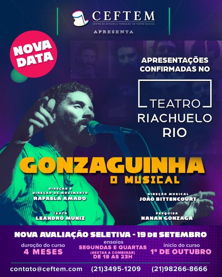 Imagem para curso de Gonzaguinha - O Musical