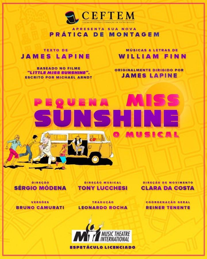 Imagem para curso de Pequena miss Sunshine - O Musical