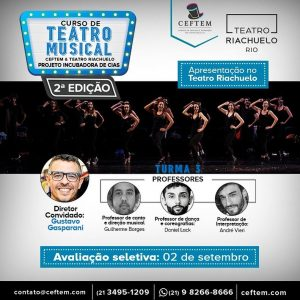 Ícone Notícia Nova turma do curso Incubadora de Cias, em parceria com o Teatro Riachuelo