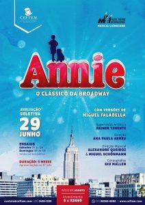 Ícone Notícia Nova avaliação seletiva de Annie - O Musical, nossa Prática de Montagem Infanto|Juvenil