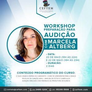 Ícone Notícia Workshop preparação para audição com Marcela Altberg