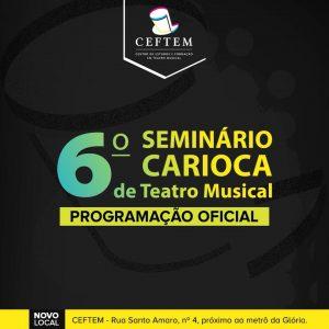 Ícone Notícia 6º Seminário Carioca de Teatro Musical - Programação Oficial.