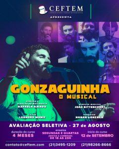 Ícone Notícia Inscrições abertas para a próxima Prática de Montagem: Gonzaguinha - O Musical.