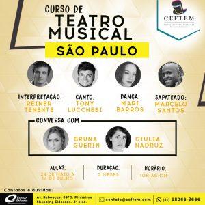 Ícone Notícia Curso de Teatro Musical - São Paulo