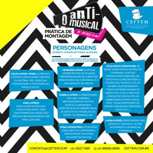 Ícone Notícia Nova avaliação de O Anti Musical - O Musical