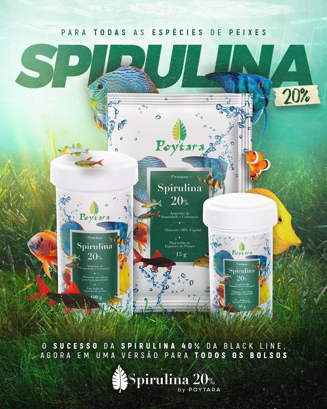 Imagem para Novo produto Spirulina 20%