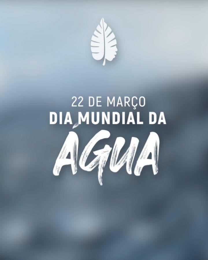 Ícone Notícia 22 de Março de 2021 - Dia Mundial da Água