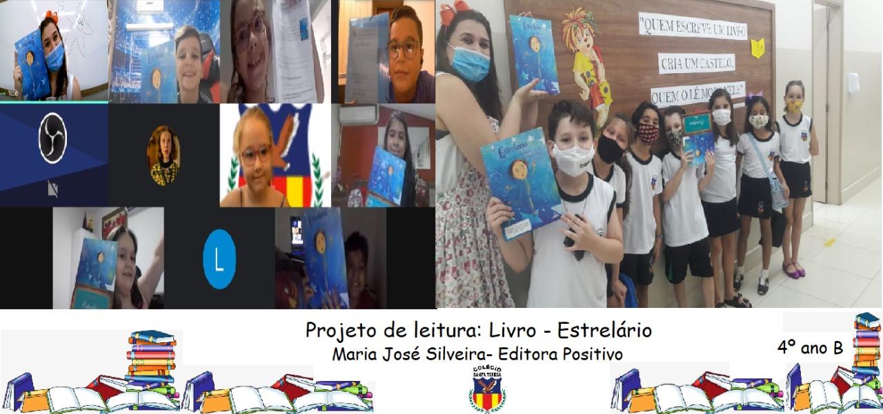 Imagem de PROJETO DE LEITURA LIVRO ESTRELÁRIO 4ºB