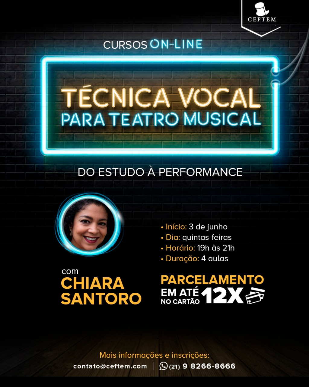 Imagem para curso de Técnica Vocal Para Teatro Musical