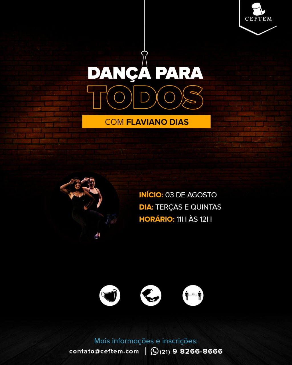 Imagem para curso de Dança Para Todos