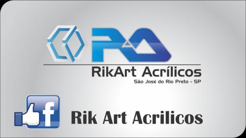 Rik Art Acrílicos agora no Facebook !