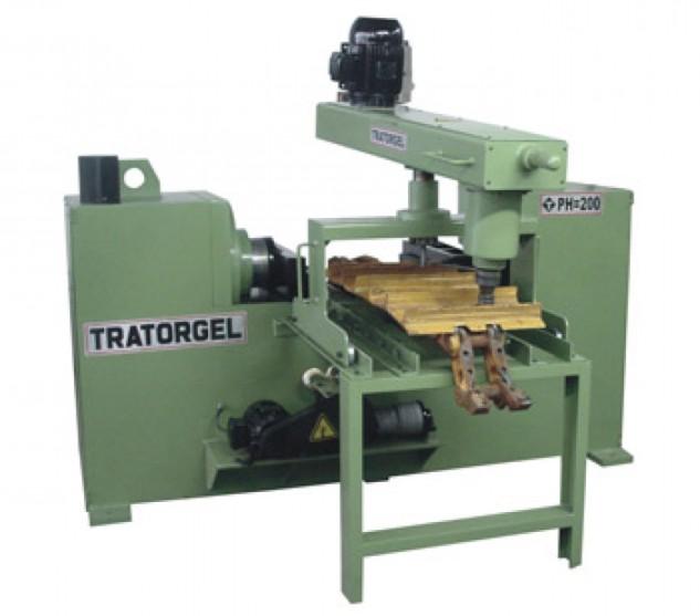 Prensa hidráulica de 150, 200 e 350 toneladas para giro e troca de pinos e buchas de esteiras