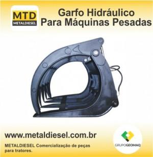 Garfo hidráulico para máquinas pesadas é na METALDIESEL