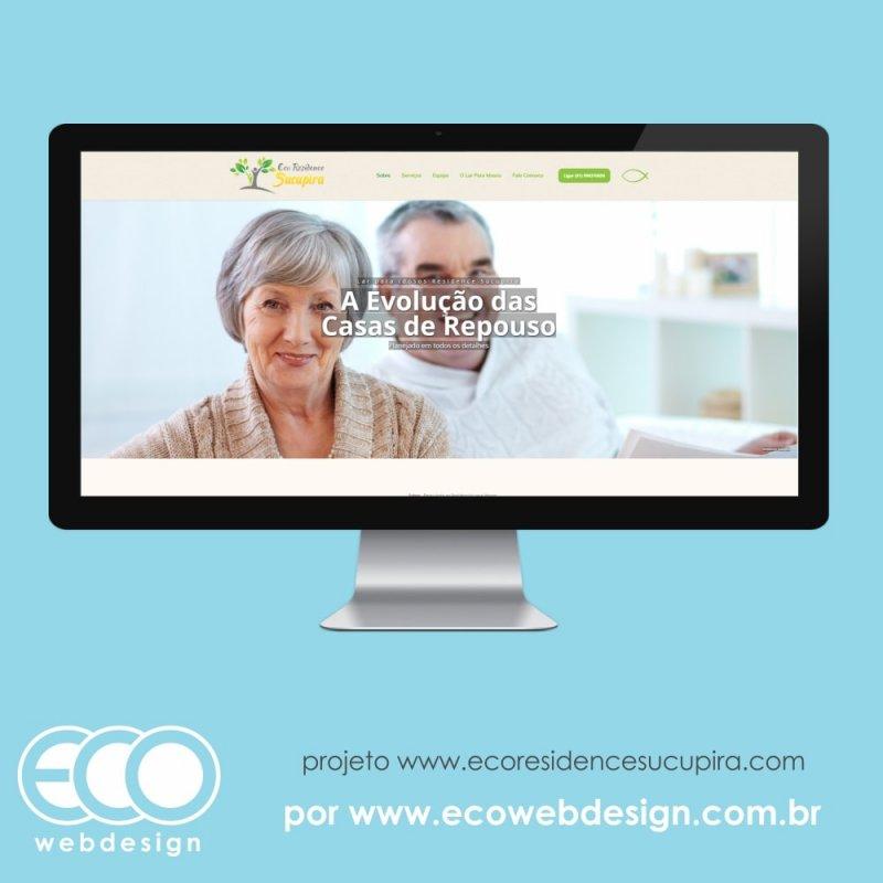 Imagem de Acesse <a href='https://ecoresidencesucupira.com/' target='_blank'>https://www.ecoresidencesucupira.com/</a> • Site institucional para casa de repouso para idosos -  Eco Residence Sucupira