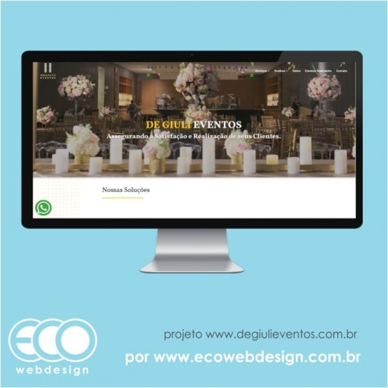 Imagem de Acesse <a href='https://www.degiulieventos.com.br/ ' target='_blank'> https://www.degiulieventos.com.br</a> • Site institucional para eventos sociais, corporativos e culturais -  De Giuli Eventos.
