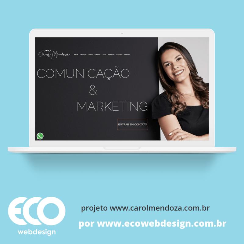 Imagem de Acesse <a href='https://www.carolmendoza.com.br' target='_blank'> https://www.carolmendoza.com.br</a> • Site institucional para empresa de publicidade digital para autônomos, pequenas e médias empresas - Work Comunicação & Marketing