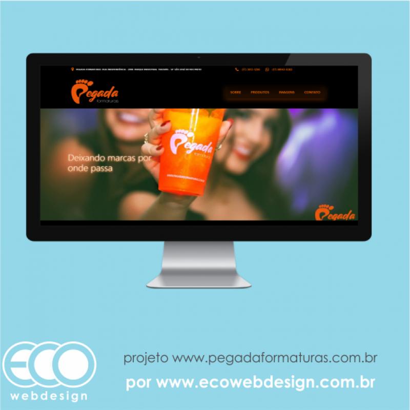 Imagem de Acesse <a href='http://www.pegadaformaturas.com.br' target='_blank'> pegadaformaturas.com.br</a> • Website institucional com foco em prospecção • Pegada Formaturas - Deixando marcas por onde passa