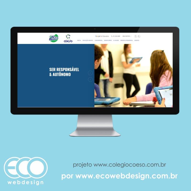 Imagem de Acesse <a href='https://www.colegiocoeso.com.br/' target='_blank'>https://www.colegiocoeso.com.br/</a> • Site institucional para Colégio com ensinos infantil, fundamental e médio -  Colégio Arte & Manha e Colégio Coeso