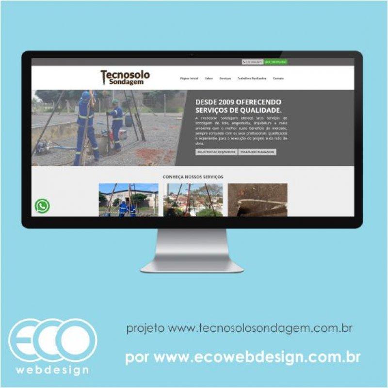 Imagem de Acesse <a href='http://www.tecnosolosondagem.com.br/' target='_blank'> https://www.tecnosolosondagem.com.br</a> • Site institucional para empresa de engenharia especializada em sondagem de solo - Tecnosolo Sondagem.