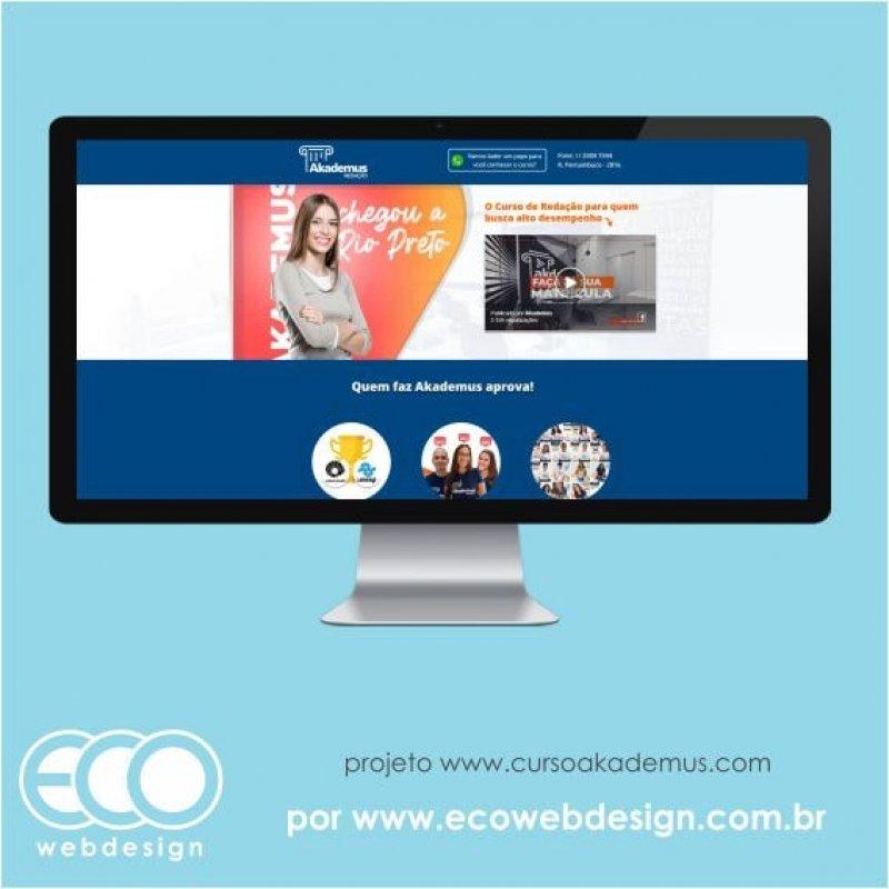 Imagem de Acesse <a href='https://www.cursoakademus.com' target='_blank'> https://www.cursoakademus.com</a> • Site institucional para empresa de cursos - Akademus Redação.