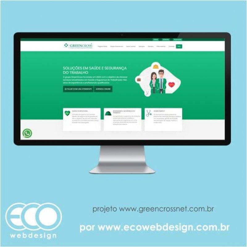 Imagem de Acesse <a href='https://www.greencrossnet.com.br' target='_blank'> https://www.greencrossnet.com.br</a> • Site institucional para empresa de soluções em saúde e segurança do trabalho - Greencross.