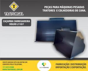 Caçambas carregadeiras para máquinas pesadas