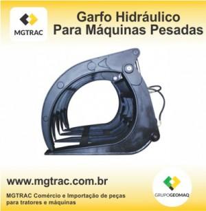 Garfo hidráulico para máquinas pesadas é na MGTRAC