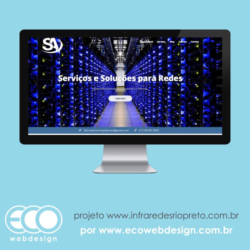 Imagem de Acesse <a href='http://www.infraredesriopreto.com.br' target='_blank'>infraredesriopreto.com.br</a> • Website institucional • Infra Redes Rio Preto Samuel - Serviços e Soluções de rede em Rio Preto.