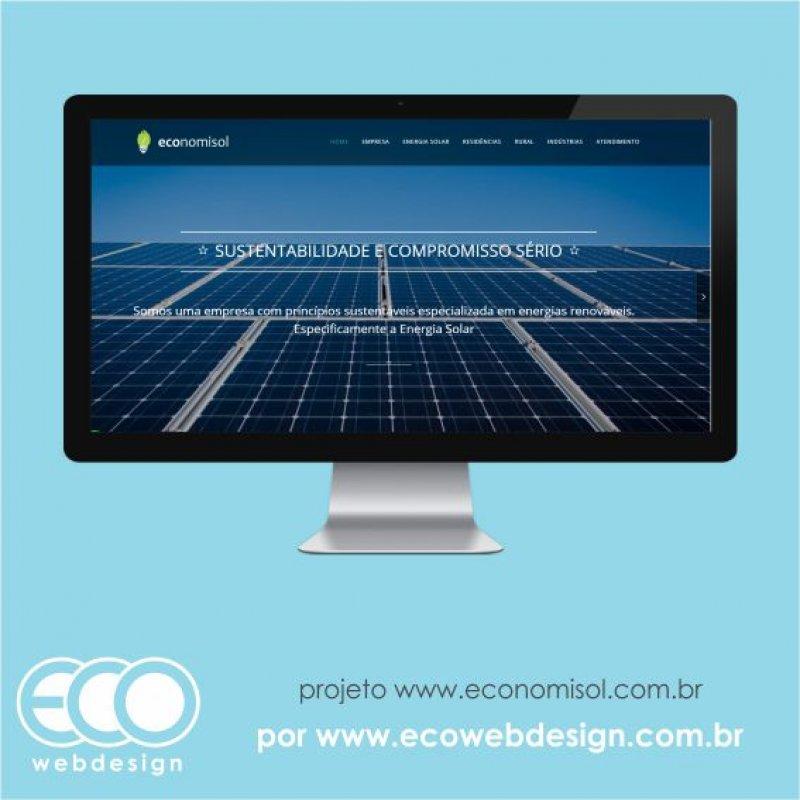Imagem de Acesse <a href='https://economisol.com.br' target='_blank'>economisol.com.br</a> • Website institucional execução e manutenção de placas voltaicas • Economisol - Sustentabilidade e Compromisso.