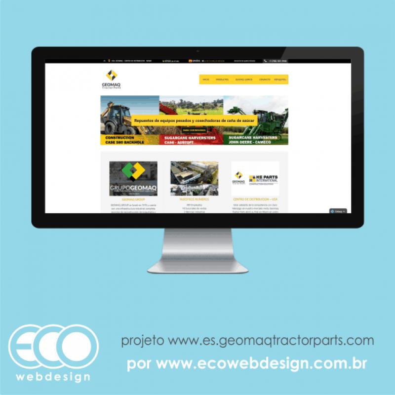 Imagem de Acesse <a href='https://www.es.geomaqtractorparts.com/' target='_blank'>es.geomaqtractorparts.com</a> • Site Institucional da Tractor Parts [Espanhol] • Grupo Geomaq