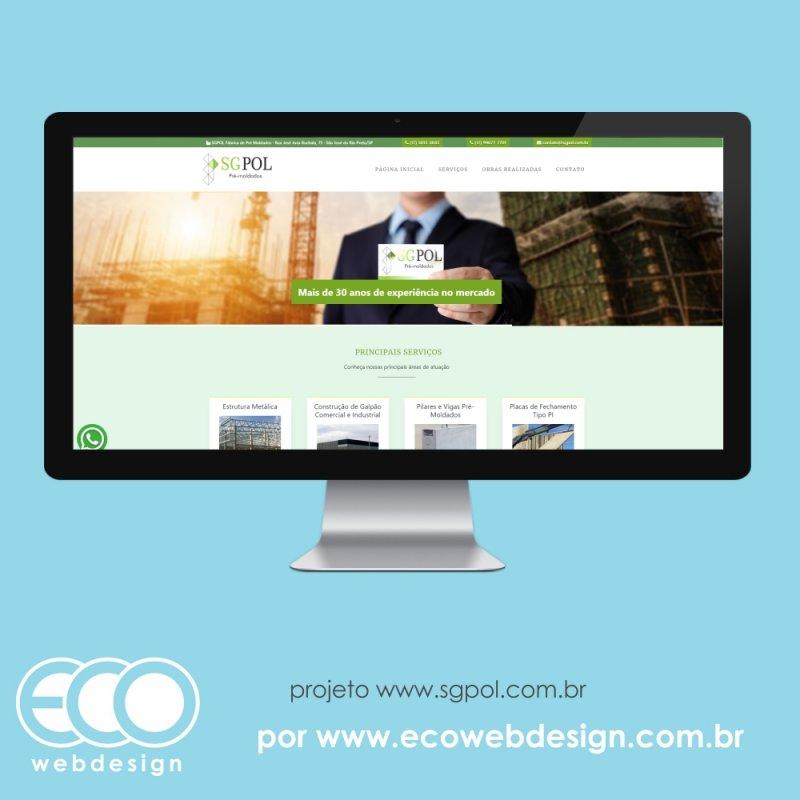 Imagem de Acesse <a href='https://www.sgpol.com.br/' target='_blank'>https://www.sgpol.com.br/</a> • Site institucional para empresa de contrução de estruturas pré-moldadas -  SGPOL Pré-Moldados