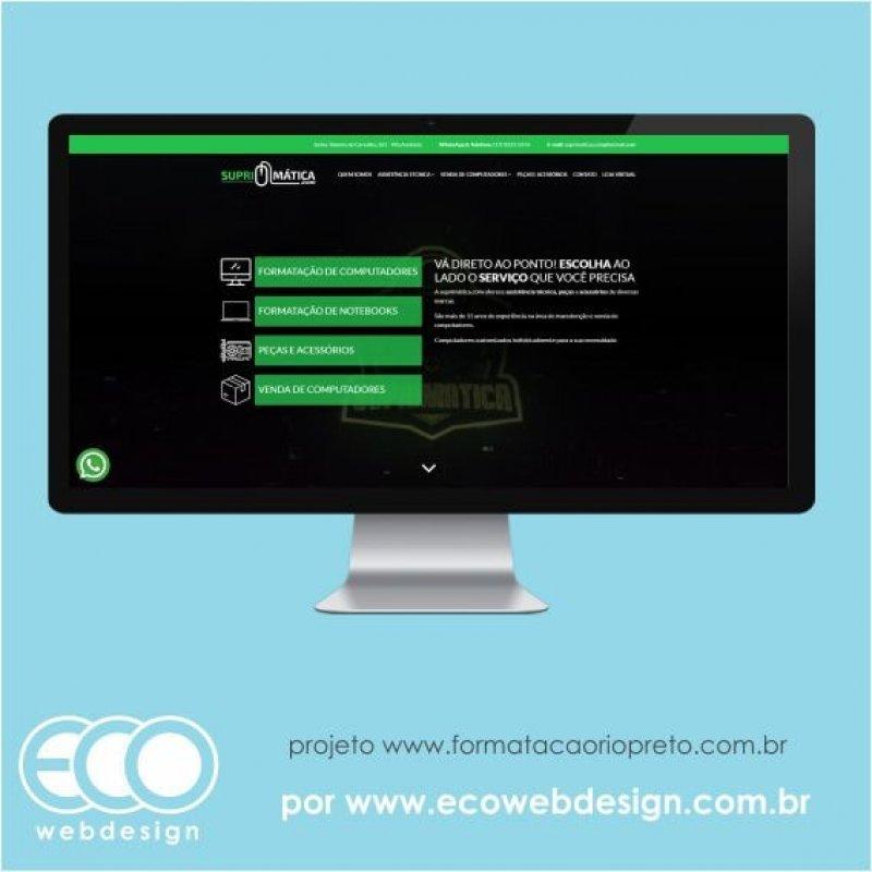 Imagem de Acesse <a href='https://www.formatacaoriopreto.com.br/' target='_blank'> https://www.formatacaoriopreto.com.br</a> • Site institucional para divulgação de serviços de assistência e venda - Suprimática.