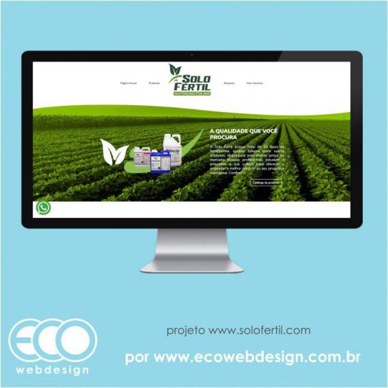 Imagem de Acesse <a href='https://www.solofertil.com' target='_blank'> https://www.solofertil.com</a> • Site institucional para empresa de fertilizantes no ramo agropecuário - Solo Fertil Nutrição Foliar.