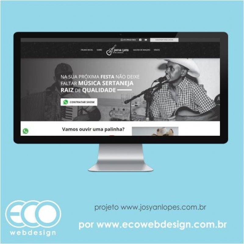 Imagem de Acesse <a href='https://www.josyanlopes.com.br' target='_blank'> https://www.josyanlopes.com.br</a> • Site de divulgação para cantor e compositor no ramo de eventos - Josyan Lopes
