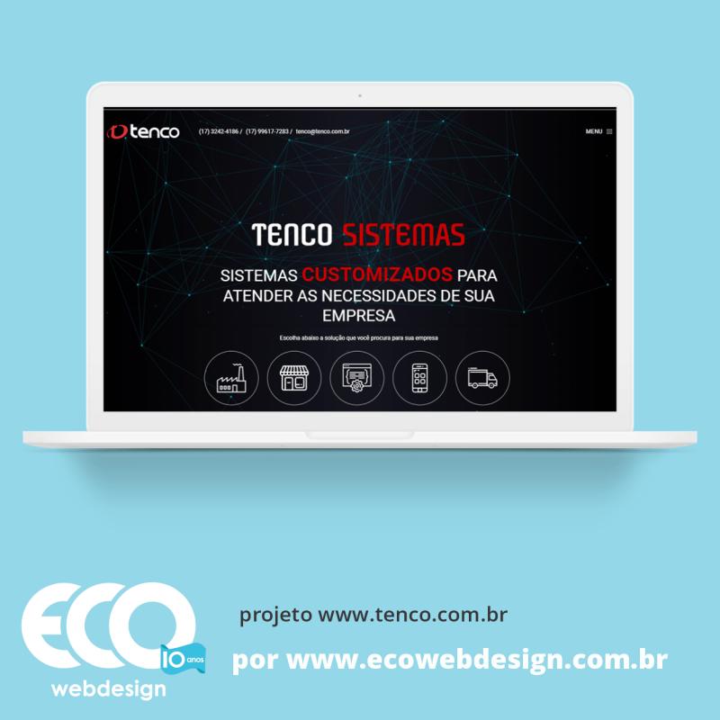 Imagem de Acesse <a href='https://www.tenco.com.br' target='_blank'> https://www.tenco.com.br</a> • Site institucional para empresa que oferece software, tecnologia e serviços customizados para outras empresas - Tenco Sistemas