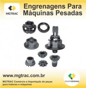 Engrenagens para máquinas pesadas é MGTRAC