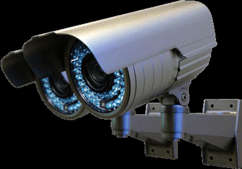 Implantação de Circuito Fechado de Cameras(CFTV).